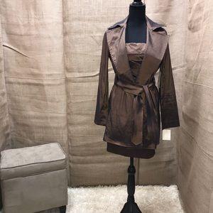 NWT Jessica McClintock 2 pc dress with Jacket